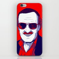 Stan Lee / Excelsior iPhone & iPod Skin