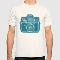 I Still Shoot Film Camer… Mens Fitted Tee Natural SMALL