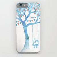 couple iPhone & iPod Cases featuring The Start of Something by David Fleck