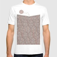 Knitting experience Mens Fitted Tee White SMALL