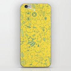 Super Mega Turbo Doodle Power iPhone & iPod Skin