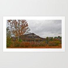 Dilapidated House Art Print