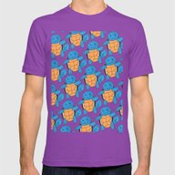 1 Squirtle, 2 Squirtle,… Mens Fitted Tee Ultraviolet SMALL