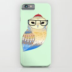hipster owl iPhone 6 Slim Case
