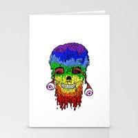 Melty Face Stationery Cards