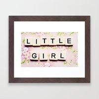 Pink for Girls Framed Art Print