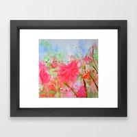 Le Jardin Coral Framed Art Print