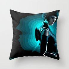 Quorra Throw Pillow