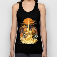 Smash! Zap!! Zooom!! - Butt-Chinned Captain Unisex Tank Top