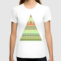 aztec T-shirts featuring Aztec by Elli F