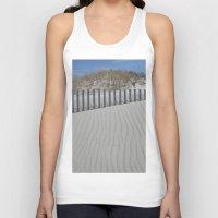 Sand Dune Ripples Unisex Tank Top