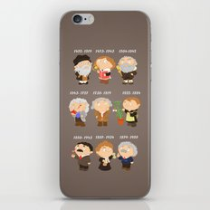 science for nerds  iPhone & iPod Skin