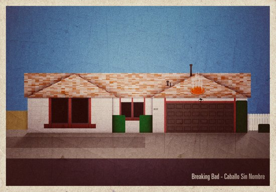 Breaking Bad - Caballo Sin Nombre Art Print