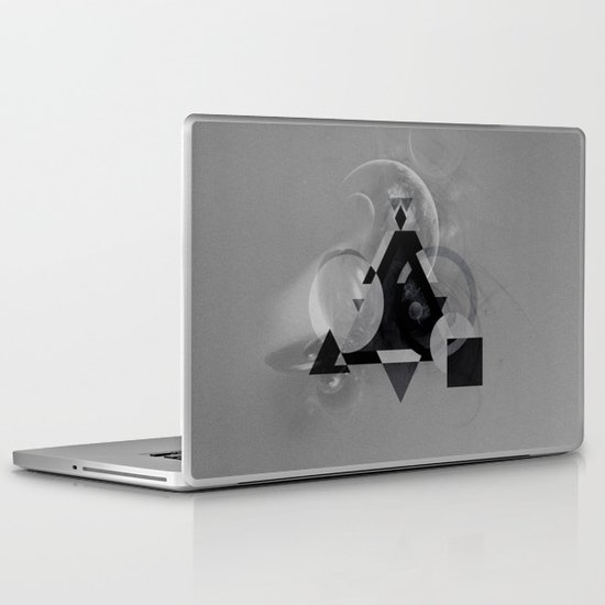 Abstract Triangle Laptop & iPad Skin