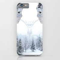 iPhone & iPod Case featuring Breath of Winter by Birdskull Studios
