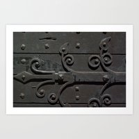 Ancient Door Art Print