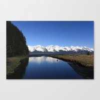 Tonsina Creek Canvas Print