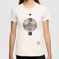 for the stars Womens Fitted Tee Natural SMALL