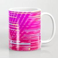Sunset Glitch Mug