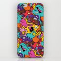More Monsters, More Patterns iPhone & iPod Skin