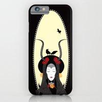 iPhone & iPod Case featuring Dream of a Raven by Daniela Jiménez
