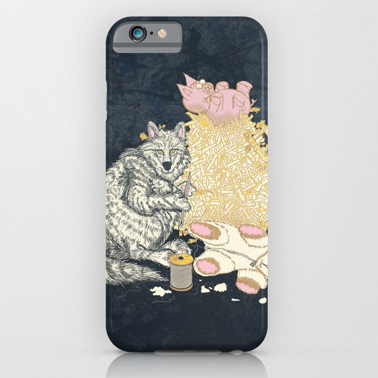 Big Bad Wolf Only Needed a Needle iPhone & iPod Case