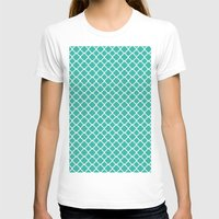 turquoise T-shirts featuring Turquoise  by EVNF