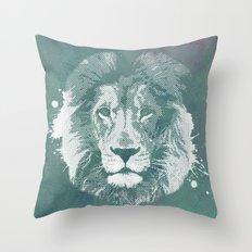 Lion's mark Throw Pillow