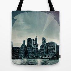 Manhattan Night Tote Bag