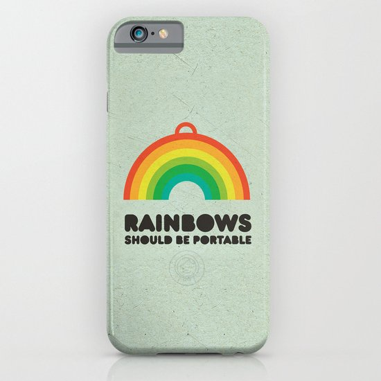 Rainbows should be portable. iPhone & iPod Case