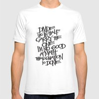 Divide Us Mens Fitted Tee White SMALL