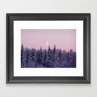 Noon At North Pole Framed Art Print