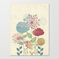 Flower Tales Canvas Print
