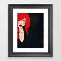 Natasha Romanoff Framed Art Print