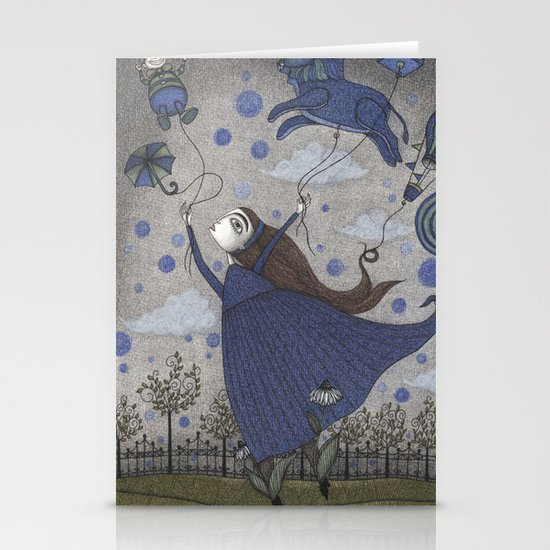 Violetta Dreaming Stationery Card