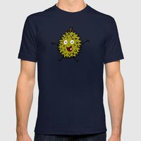 Durian Mens Fitted Tee Navy SMALL