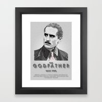 The Godfather - Part Two Framed Art Print