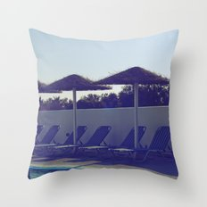 In love with summer... Throw Pillow