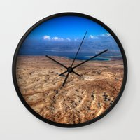 The Dead Sea Series #2  Wall Clock