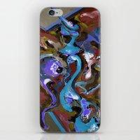 Wish Blue iPhone & iPod Skin