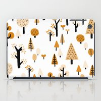 trees in the forest iPad Case
