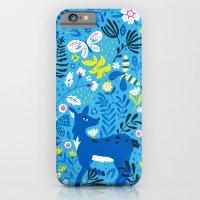 Deer And Butterflies (Sk… iPhone 6 Slim Case