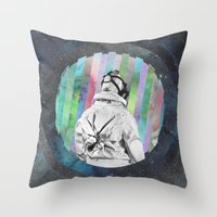 Space Finder Throw Pillow