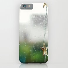 christmas on a rainy day iPhone 6 Slim Case