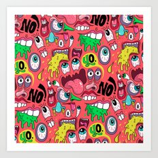 Gross Pattern Art Print