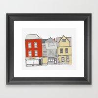 Tombland Buildings, Norw… Framed Art Print