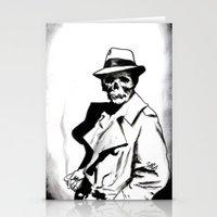 Skeleton Expatriate Stationery Cards