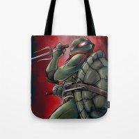Raphael . TMNT Tote Bag