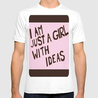 Ideas Mens Fitted Tee White SMALL