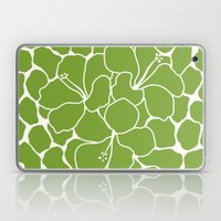 Hibiscus Animal Green Laptop & iPad Skin